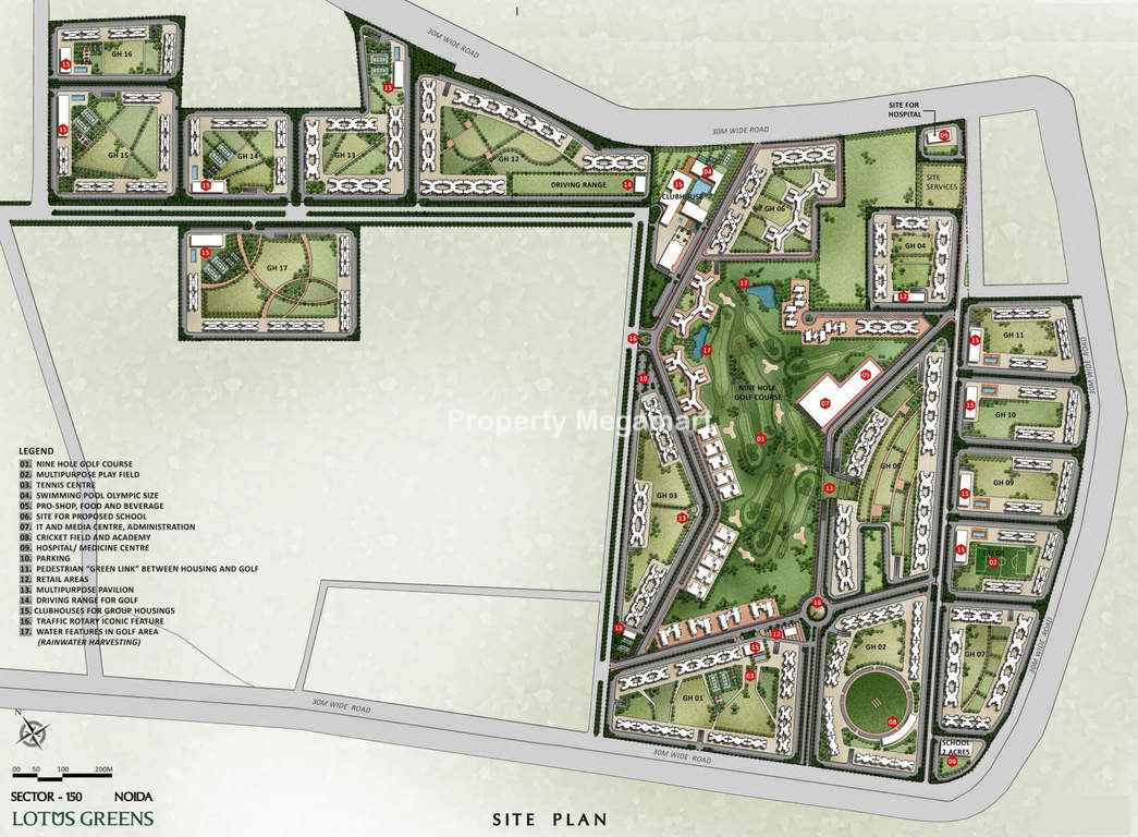 Lotus Greens Sports City Master Plan