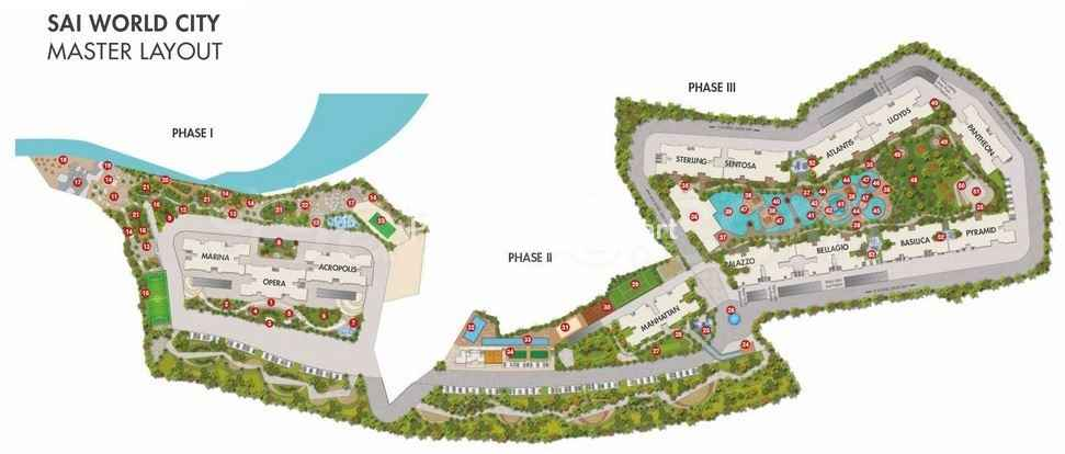 Paradise Group Sai World City Master Plan